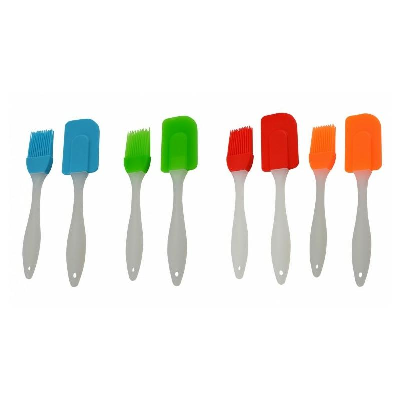 Szilikon spatula + ecset