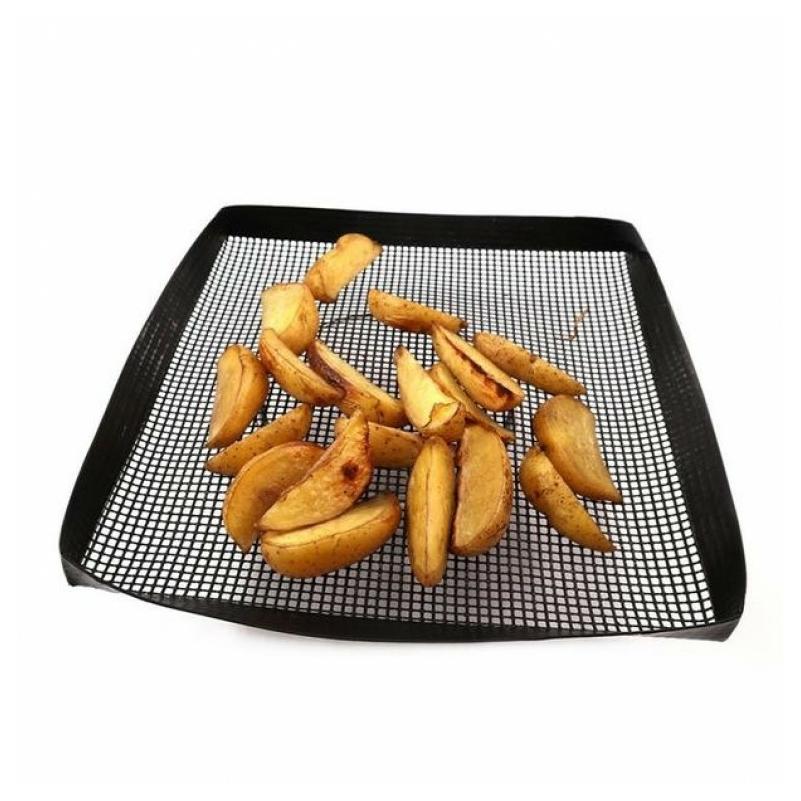 Grill sütőkosár teflon 26*36 cm